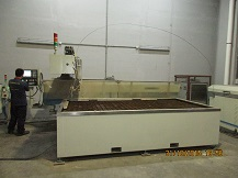 Waterjet Machine Cutting
